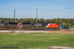 CN 2710 | GE C44-9W | CN Yazoo Subdivision