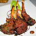 Lamb chop tandoor - Lamb chop, Shata pepper, marble potatoes, spicy plum sauce