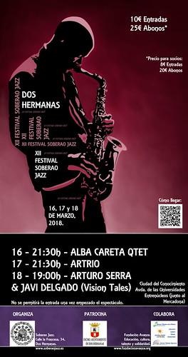Cartel del Festival Soberao Jazz