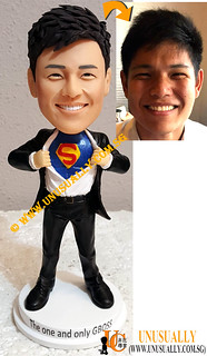 Personalized 3D Smart Super Executive Figurine - © www.unusually.com.sg