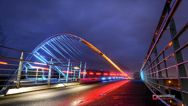 Millennium Bridge, York [Explored], Fujifilm X-T2, XF10-24mmF4 R OIS