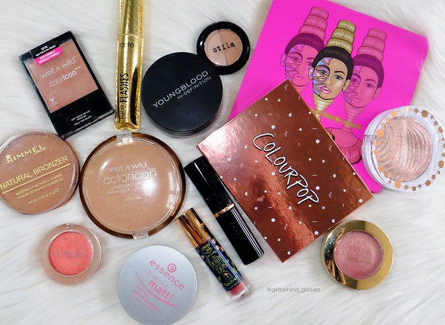 Makeup stash Jan 2018