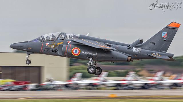 French Air Force Dassault-Breguet-Dornier Alpha Jet E E115
