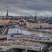 Panoramic city view of Stockholm Sweden