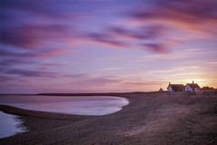 Shingle Street Sunset.