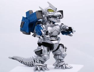 FUJIMI 第五彈「機械哥吉拉(3式機龍 重武裝型)」!!チビマルゴジラシリーズ No.5 メカゴジラ(3式機龍 重武装型) プラモデル