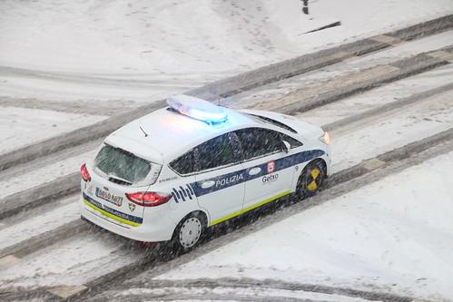 Nieve en Getxo, 28-2-2018