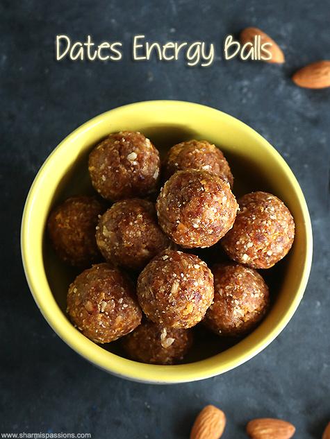 dates cornflakes energy balls recipe