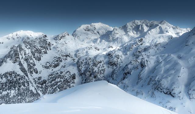 Belledonne range after snowfall, Olympus E-M5MarkII, Lumix G Vario 14-140mm F3.5-5.6 Asph. Power OIS