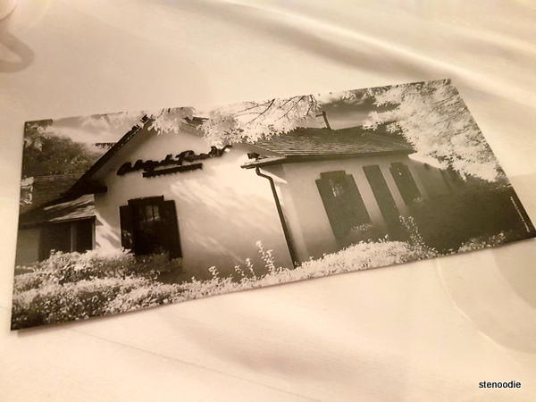 Auberge du Pommier postcard