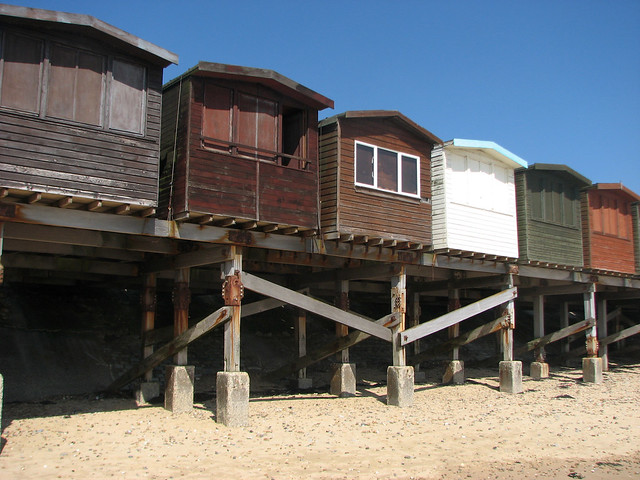 Beach Huts at Frinton-on-Sea