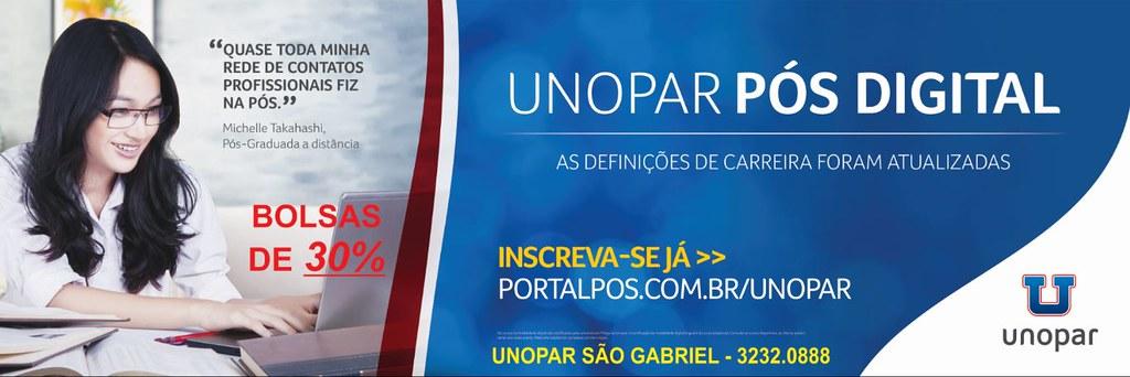 Conheça os cursos de Pós-graduação da Unopar em São Gabriel