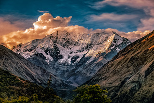 Salkantay Sunset - Mountain