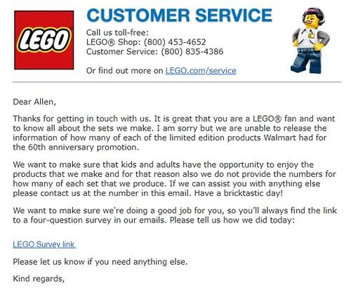 LEGO Classic Walmart 60th Anniversary