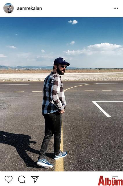 Maren Beach işletmecisi Ahmet Emre Kalan, Manavgat Model Uçak Pisti'nden bu fotoğrafı paylaştı.