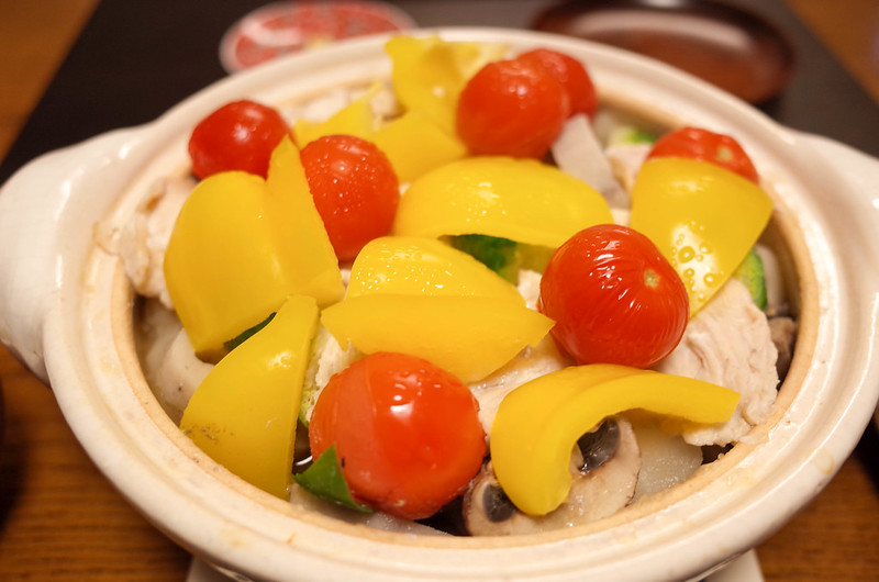 20180216土鍋蒸し野菜