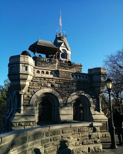 Belvedere Castle (3) #newyorkcity #newyork #manhattan #centralpark #belvederecastle #winter #latergram