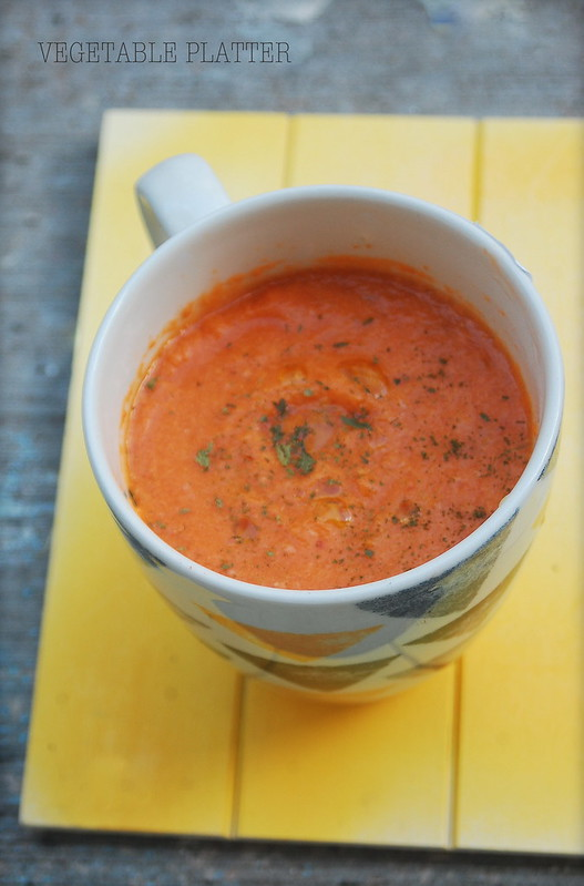Tomato & Cheddar Cheese Soup