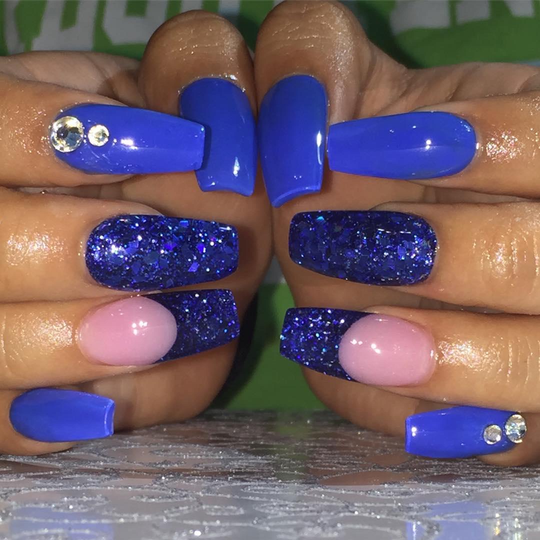 Amazing Fancy acrylic nails Trends 2018 – Daneloo