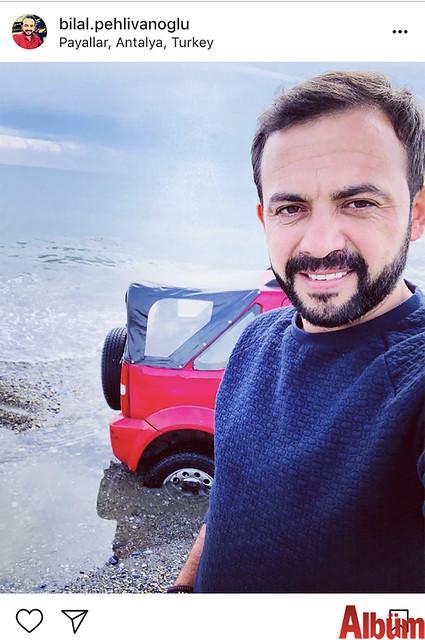 Bilal Pehlivanoğlu, Payallar Sahili'nden bu fotoğrafı paylaştı.