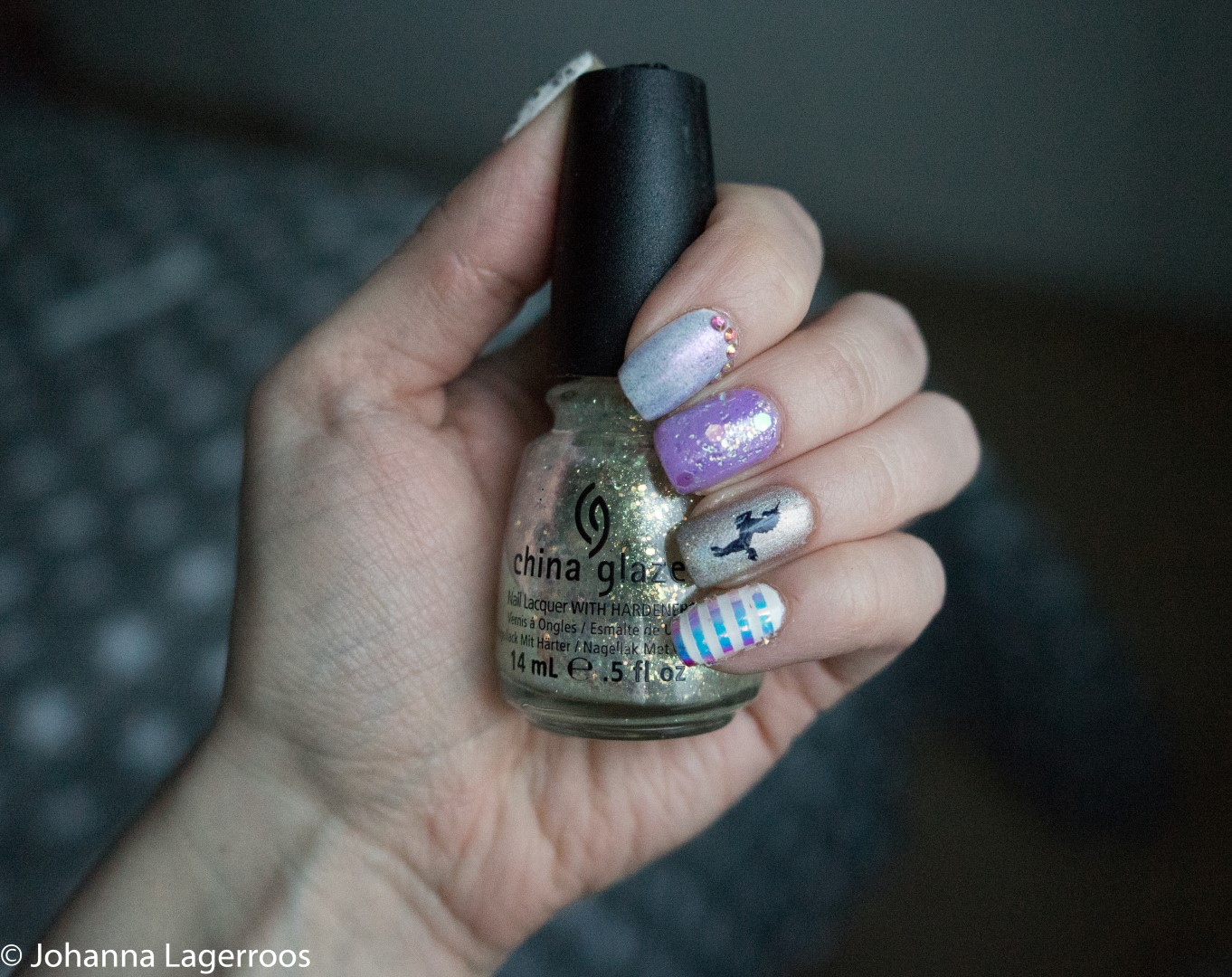 mythical march nails