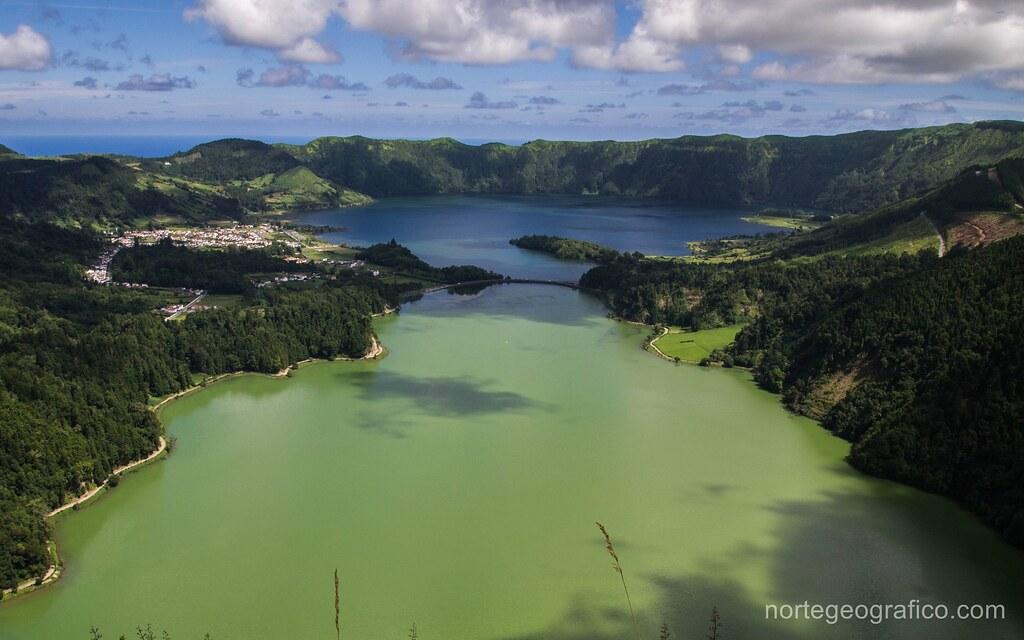 Lagoa Verde Azul