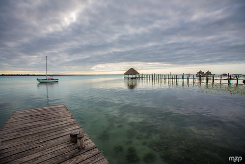 Bacalar, early morning.