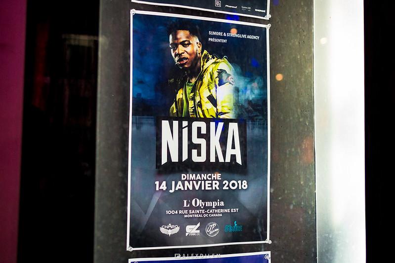 Niska à Montréal