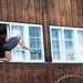 Window Cleaning on St. Johanns-Rheinweg, Basel, Canton Basel-Stadt, Switzerland