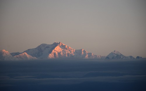 india asia autumn darjeelingdistrict gorkhaland sunrise tigerhill kangchenjunga sky skies skyline landscape clouds mist october outdoors cold hill hills himalayas d5300 nikon nature abovetheclouds pinkgold morning mountain mountains sun northeast