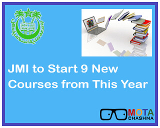 JMI to Start 9 new courses from this year