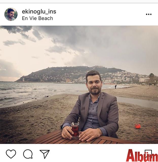 Ekinoğlu İnşaat'ın genç patronu Bayram Ekin, En Vie Beach'te keyifli bir gün geçirdi.