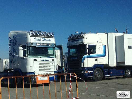 Israel Modesto Circus Scania 4-Series Topline & (ex Transcarioca) R420 Topline - Aveiro