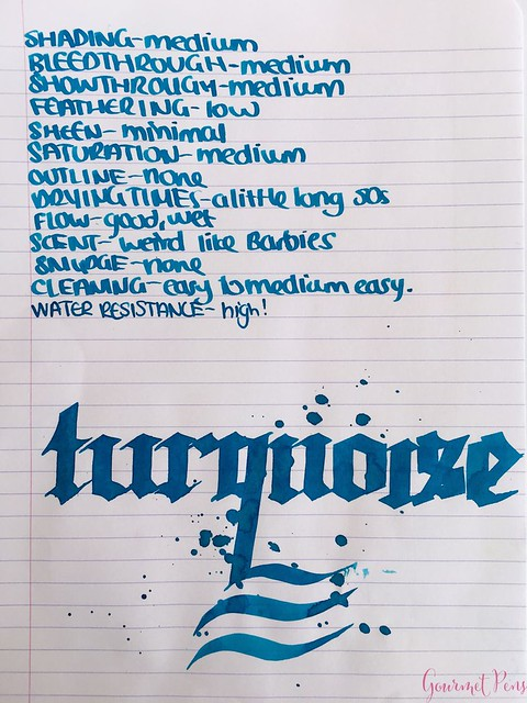 Ink Shot Review KWZI Turquoise @AppelboomLaren 5