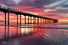 Amazing Scripps Pier Sunset