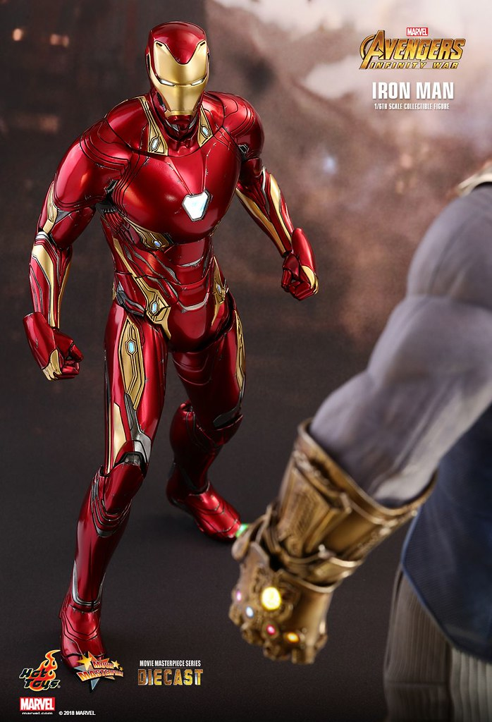 AVENGERS INFINITY WAR IRON MAN THANOS HOT TOYS