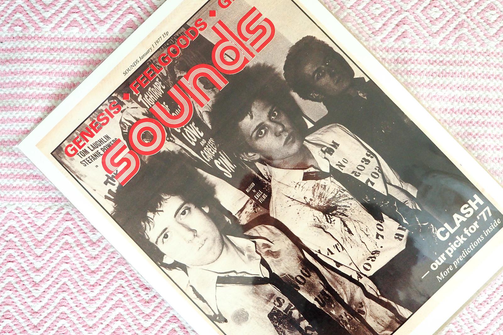 The Clash sisustusjuliste