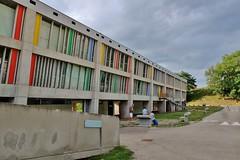 Firminy, Maison de la Culture et de la jeunesse, Le Corbusier, patrimoine mondial UNESCO