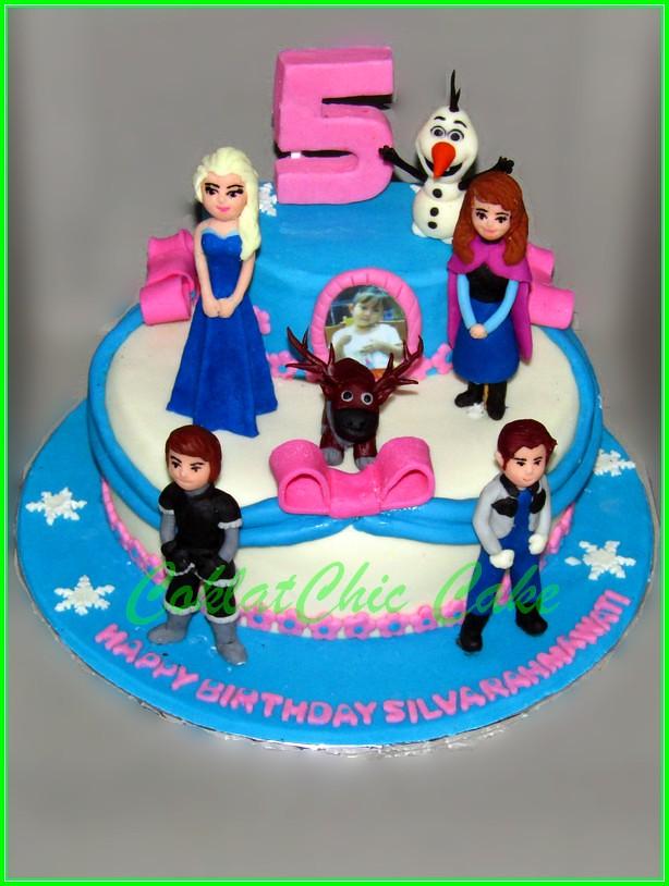 Cake Disney Frozen SILVA 20 cm