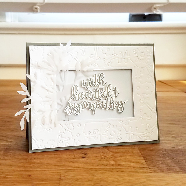 Lizzie Jones - With Heartfelt Sympathy Card