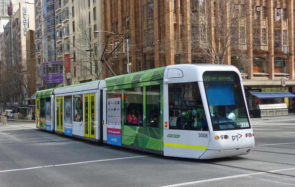 C1-class Melbourne tram.