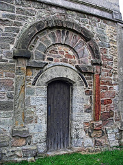 Saxon doorway, Laughton