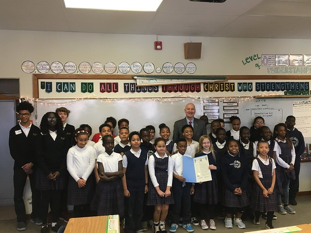 "Gov. Ricketts Signs ""Statehood Day"" Proclamation at Omaha School"