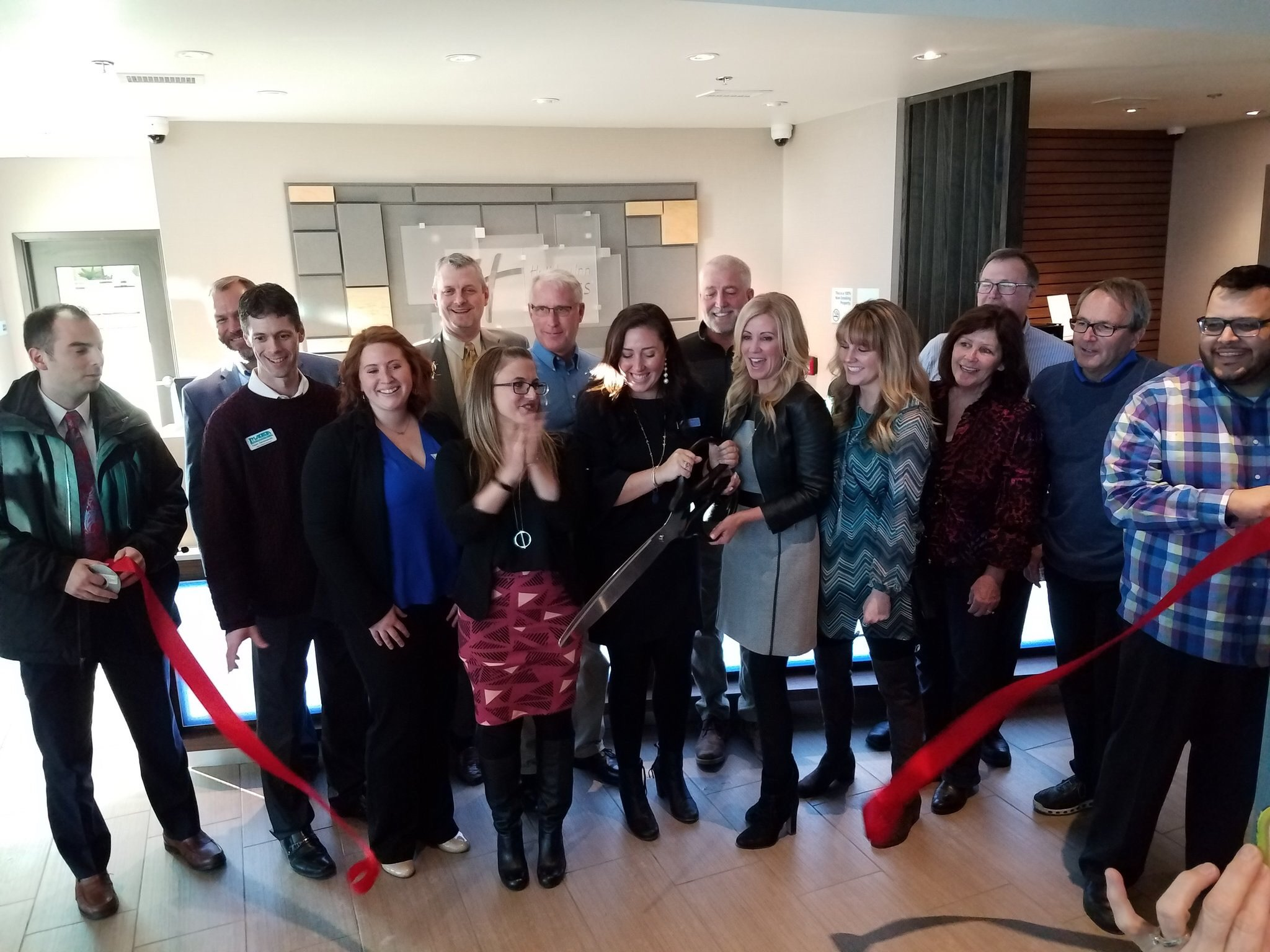 Holiday Inn Express Celebrates Their Grand Opening