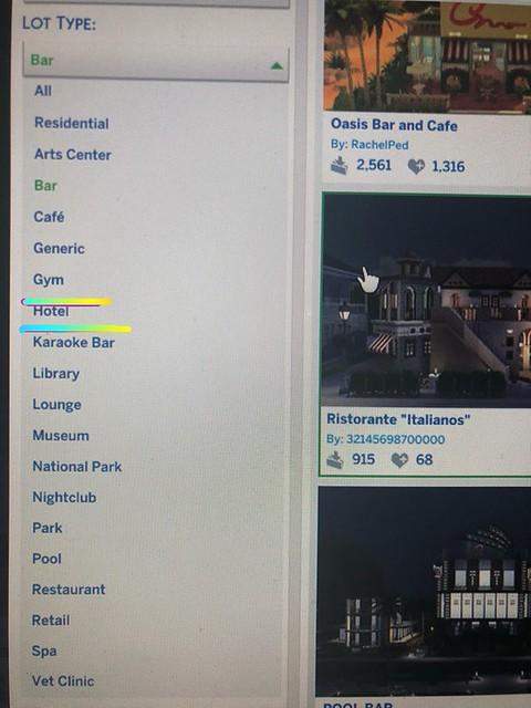 Hotéis podem estar chegando no The Sims 4