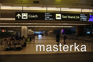 チャンギ国際空港の看板