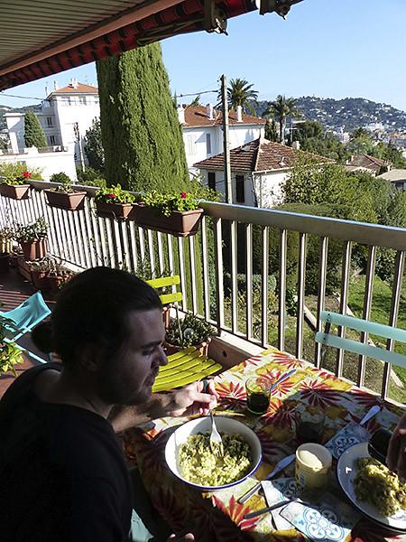 déjeuner terrasse 1