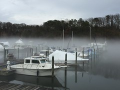Occoquan River fog, Woodbridge, Virginia