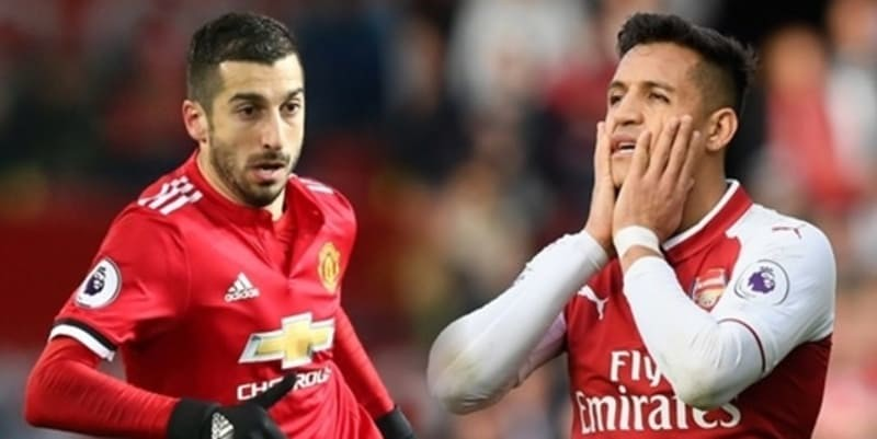 Jose Mourinho Paling Bahagia Apabila Henrikh Mkhitaryan Barter Dengan Alexis Sanchez