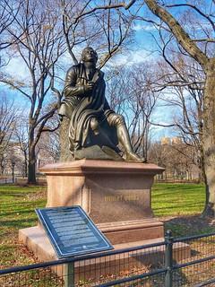 Robert Burns in NYC